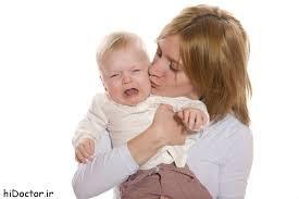گریه زیاد در کودکان نوپا